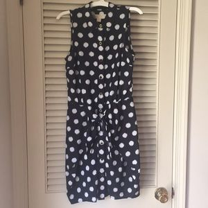 Michael Kors polkadot dress